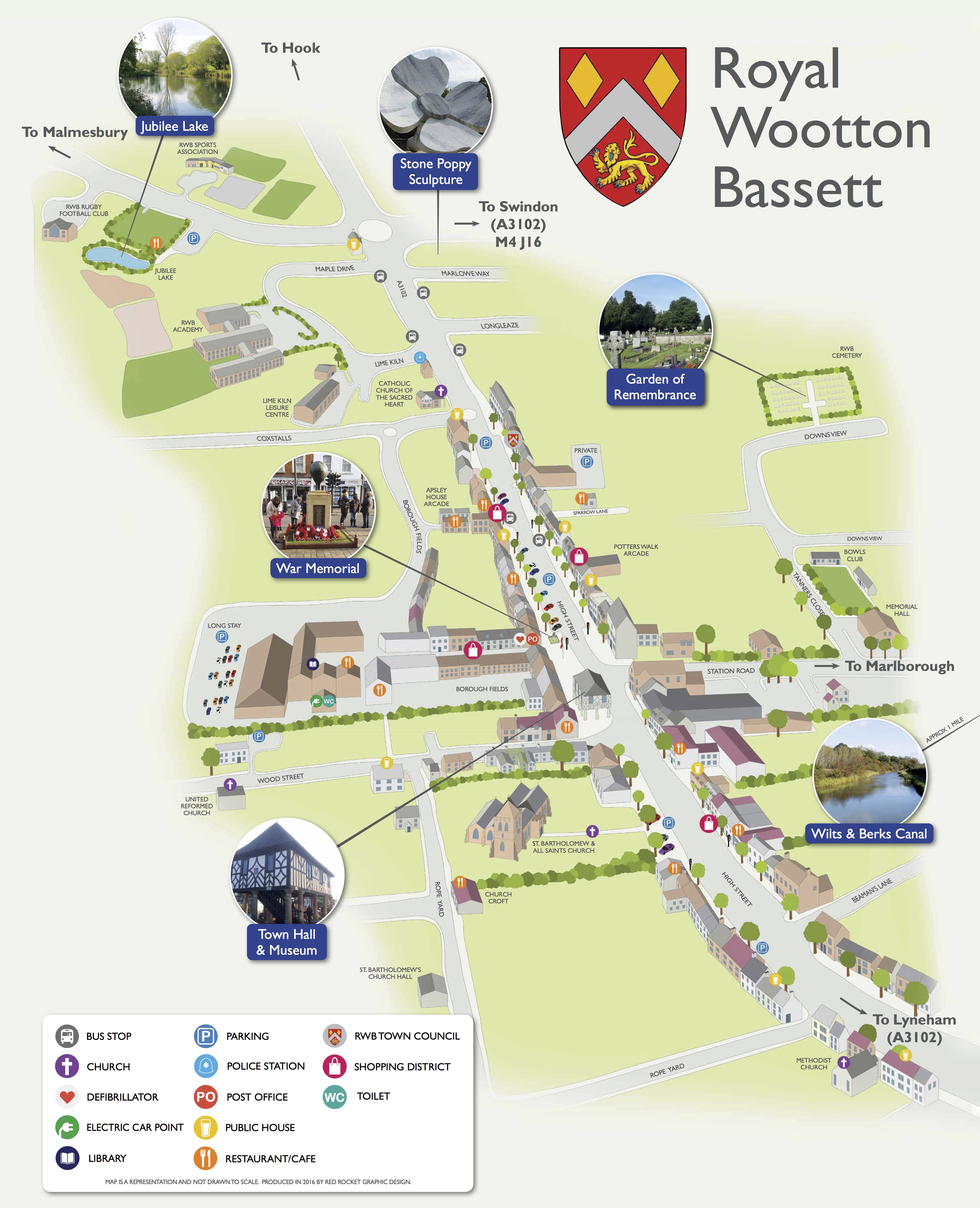 Royal Wootton Bassett Map