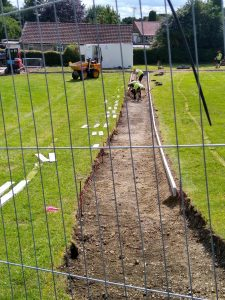 Photo 3 of Cemetery Improvement works July 2020