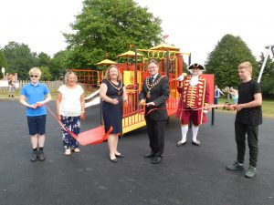 Mayor & Mayoress opens Old Court Play area