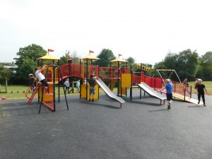 New equipment at Old Court Play Area