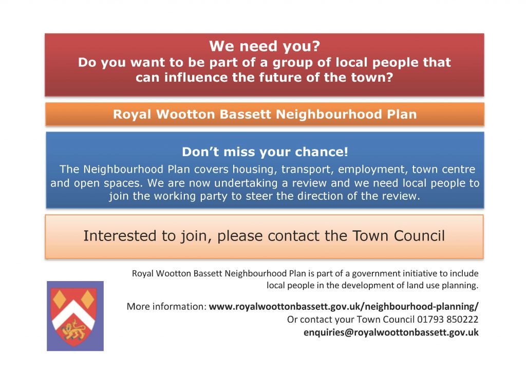 Call for residents to join Neighbourhood Plan Review Working Group