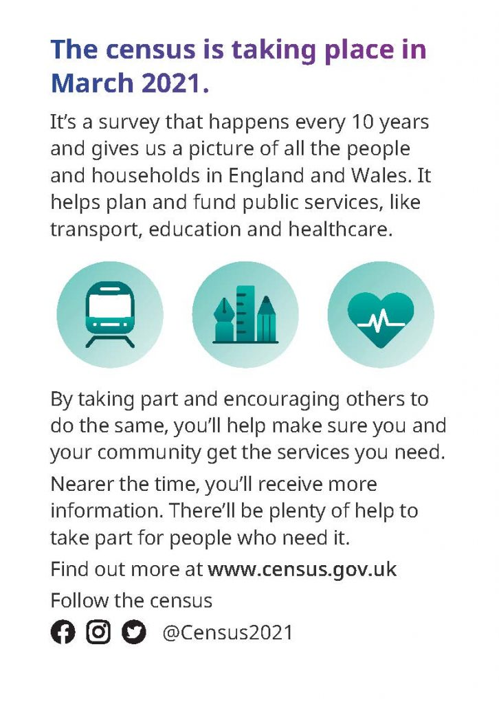 Information on Census 2021