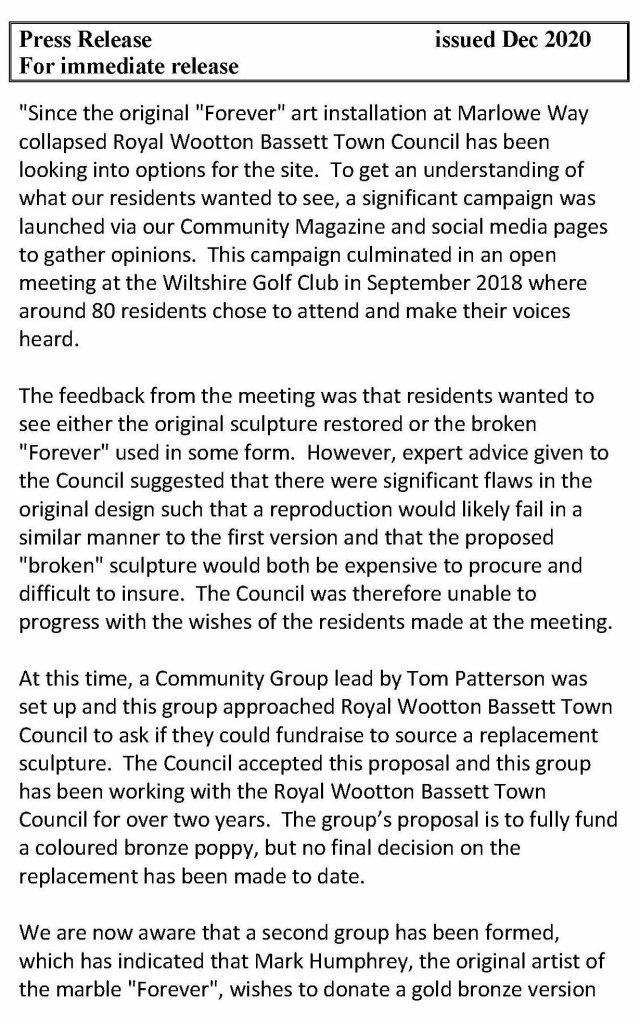 Poppy Press Release December 2020 Page 1