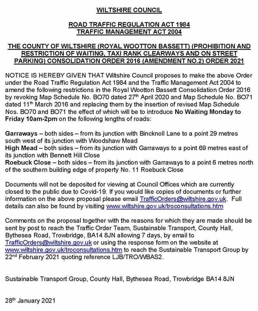 Press Release Notice