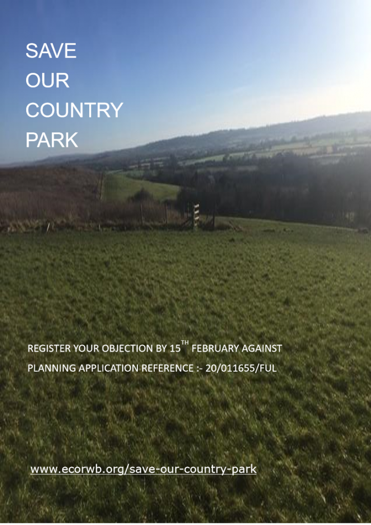 Save our Country Park poster