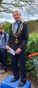 Photograph of Mayor, Councillor Steve Walls 2021