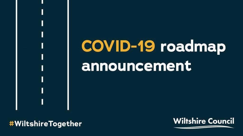 Wiltshire Council Covid roadmap announcement logo