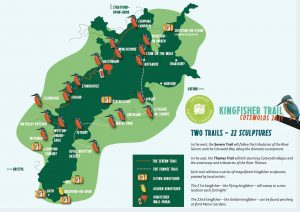 Kingfisher trail map