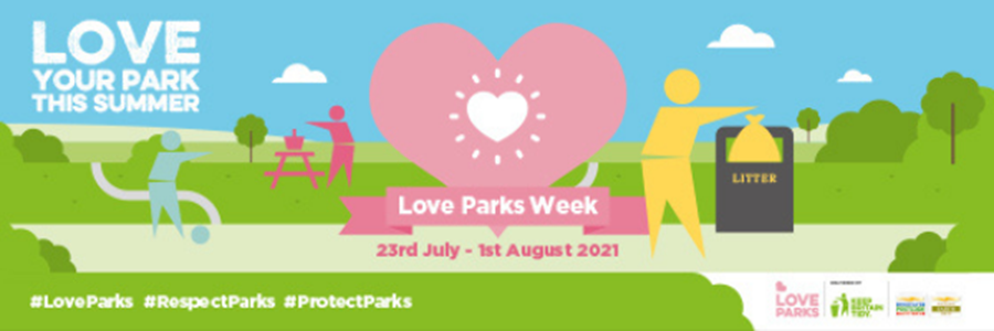Love Your Park week poster 2021
