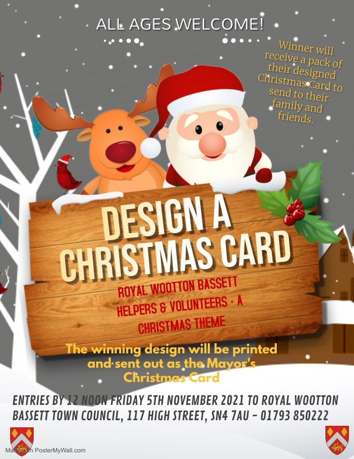 Mayors Christmas Card Competition 2021 Poster